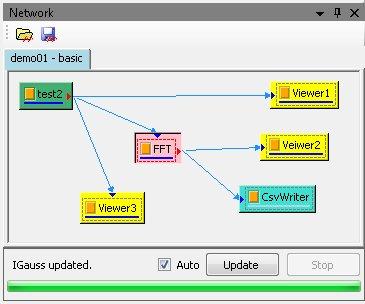 Network object window